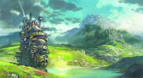 Finished up reading Howl's Moving Castle