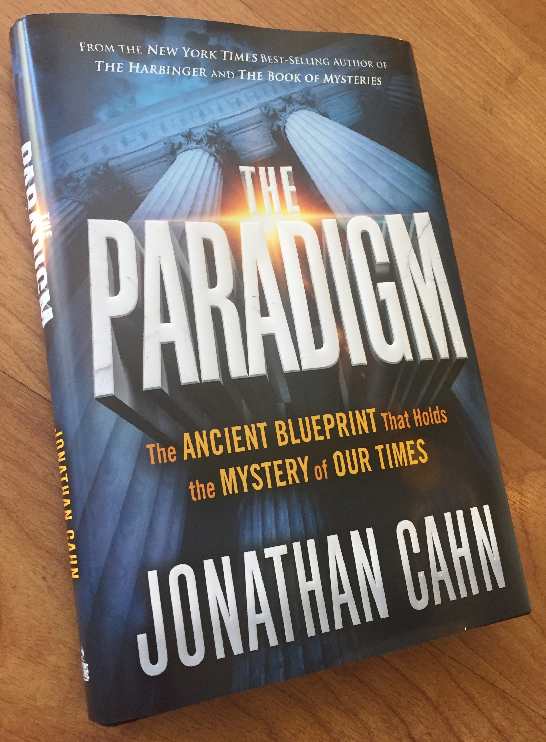 The Paradigm by Jonathan Cahn – book review