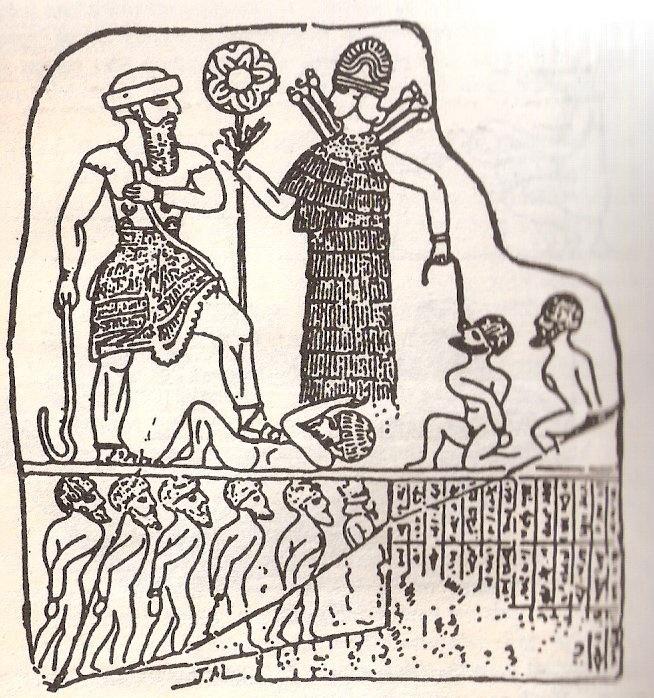 Anunnaki first genetically created mankind